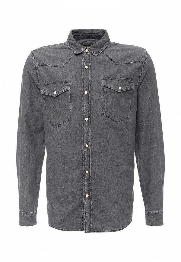 Рубашка с длинным рукавом Topman 83E11LGRY