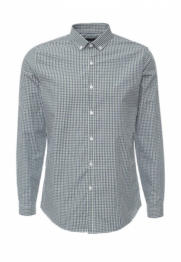 Рубашка с длинным рукавом Topman 84C10LGRN