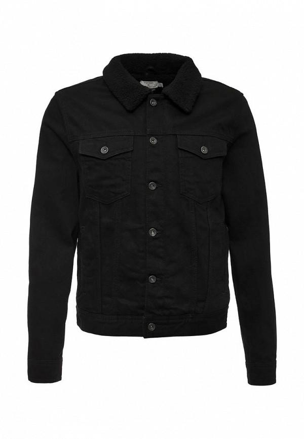 Джинсовая куртка Topman (Топмэн) 64P20MBLK