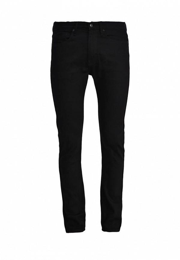 Зауженные джинсы Topman (Топмэн) 69E93MBLK