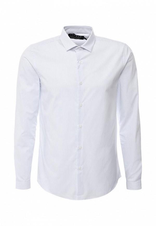 Рубашка с длинным рукавом Topman 84C13LWHT