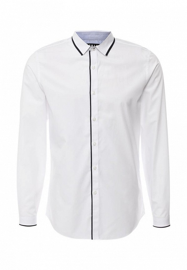 Рубашка с длинным рукавом Topman (Топмэн) 84L13LWHT