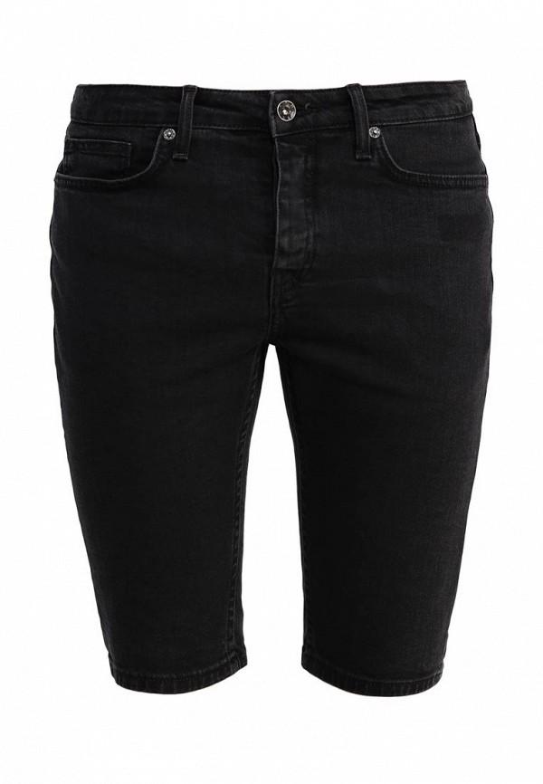 Мужские джинсовые шорты Topman (Топмэн) 33D26LBLK