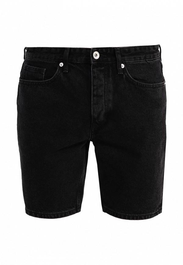 Мужские джинсовые шорты Topman 33D31LBLK