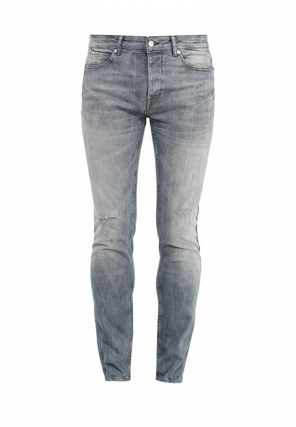Зауженные джинсы Topman (Топмэн) 69B17MGRY