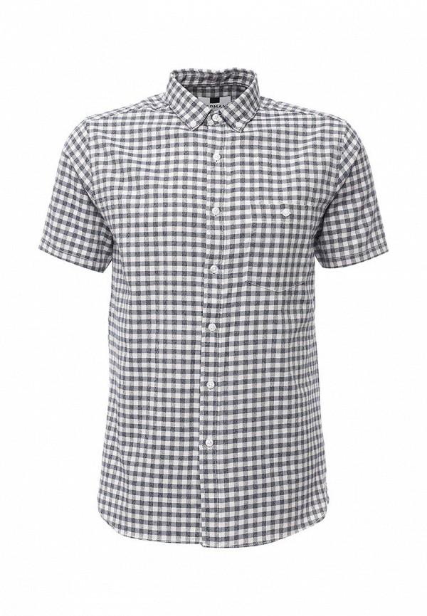 Рубашка с коротким рукавом Topman 83A13LBLE