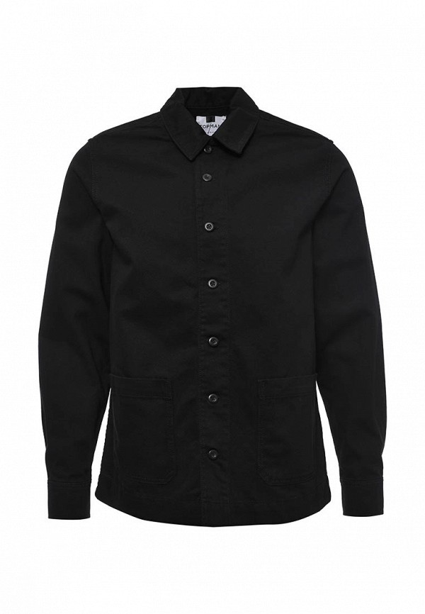 Рубашка с длинным рукавом Topman 83O07MBLK