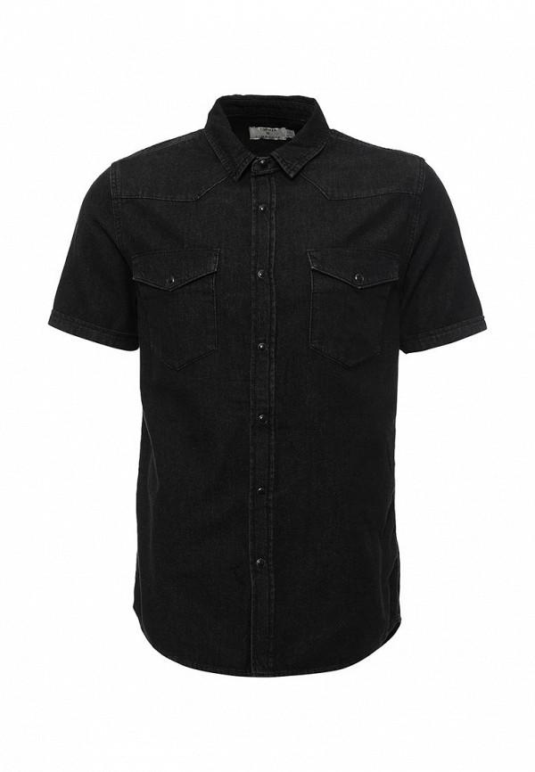 Рубашка с коротким рукавом Topman 83S03MBLK