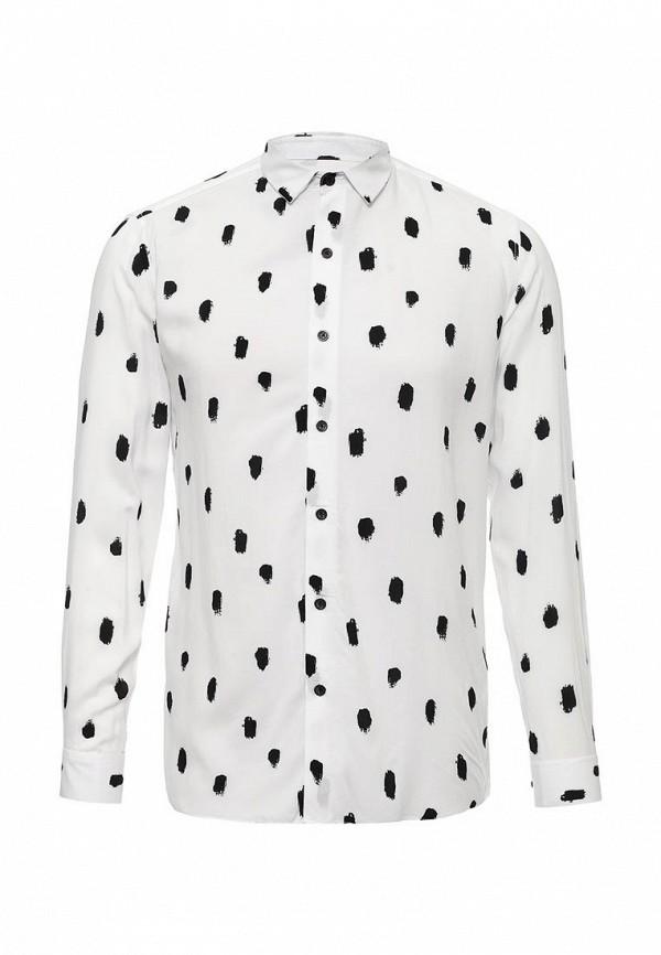 Рубашка с длинным рукавом Topman (Топмэн) 83U04MWHT