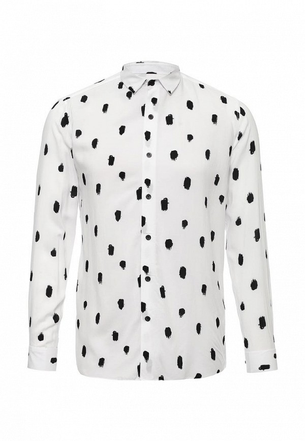 Рубашка с длинным рукавом Topman 83U04MWHT