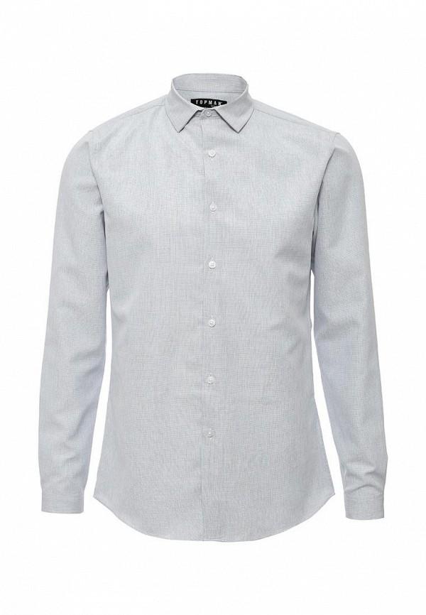 Рубашка с длинным рукавом Topman 84F13LLBL