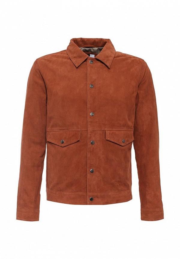 Кожаная куртка Topman (Топмэн) 64L08MBRN