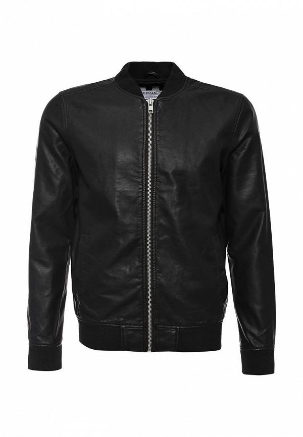 Кожаная куртка Topman (Топмэн) 64M02MBLK