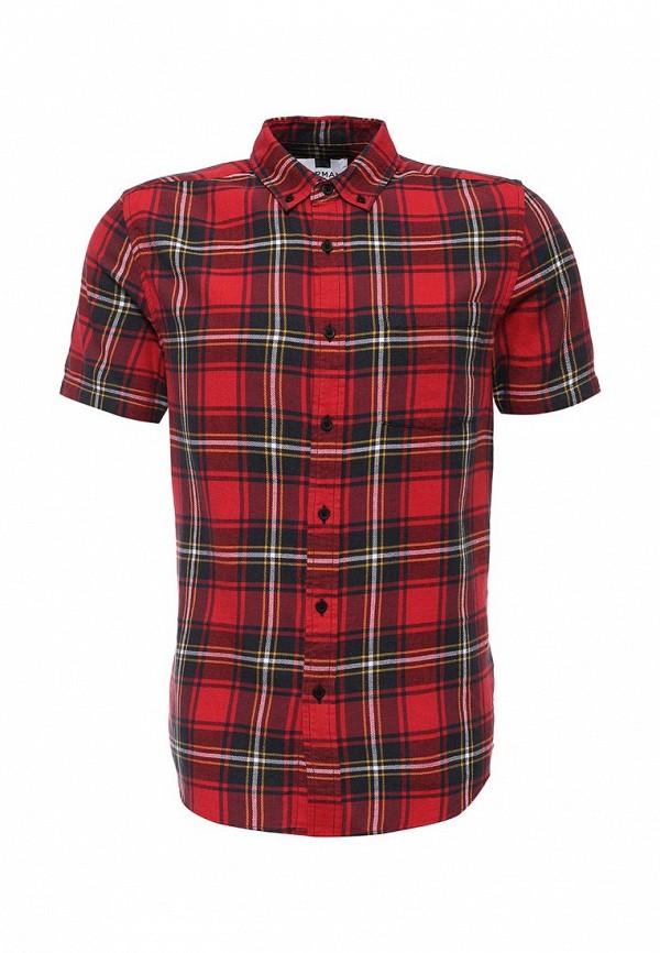Рубашка с коротким рукавом Topman (Топмэн) 83A02MRED