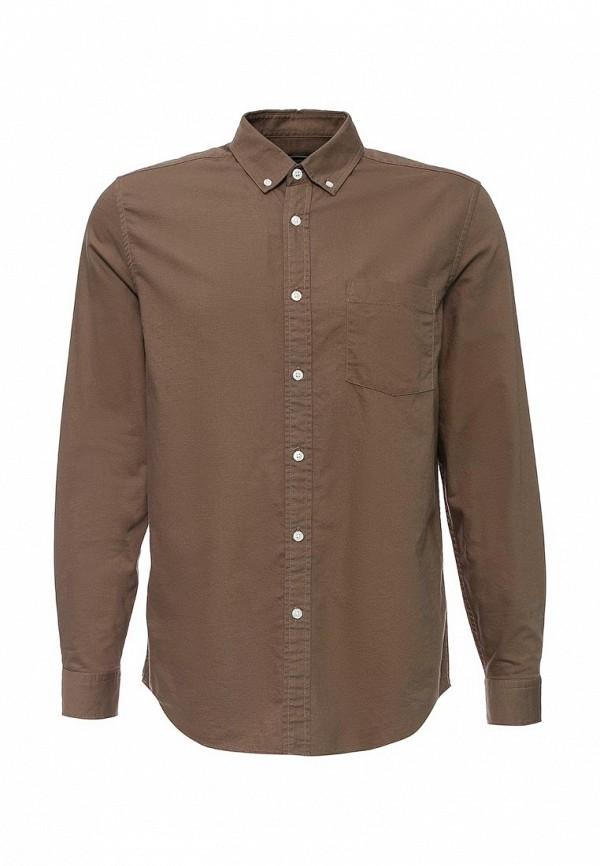 Рубашка с длинным рукавом Topman (Топмэн) 83D36LBRN