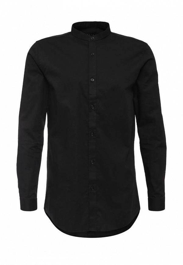Рубашка с длинным рукавом Topman (Топмэн) 84H04MBLK