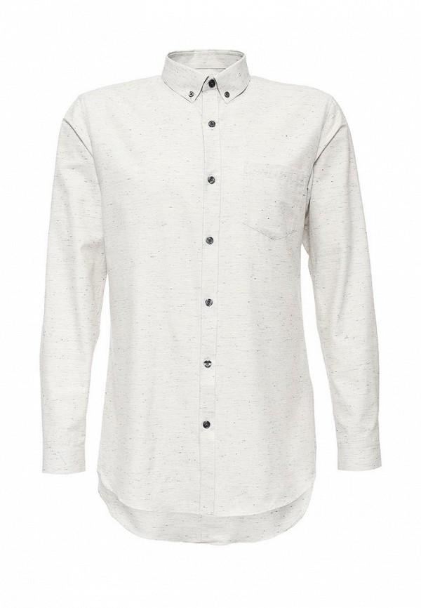 Рубашка с длинным рукавом Topman 84H06MGRY