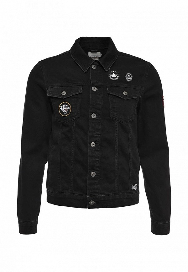Джинсовая куртка Topman 64P08LBLK