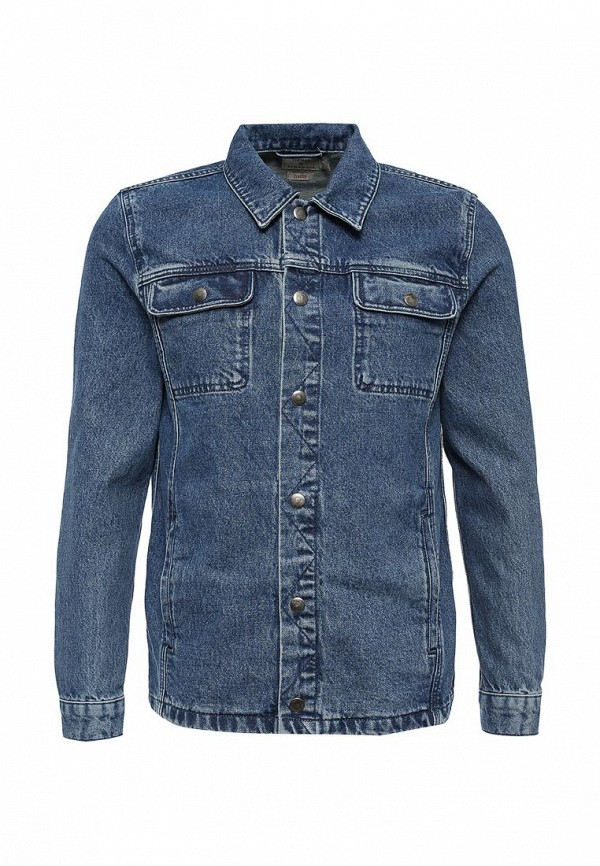 Джинсовая куртка Topman (Топмэн) 64P60MBLE