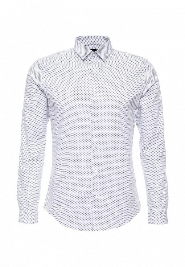 Рубашка с длинным рукавом Topman (Топмэн) 84C06MWHT