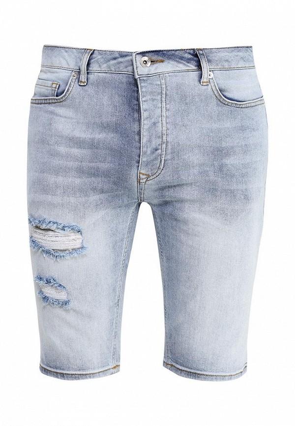 Мужские джинсовые шорты Topman (Топмэн) 33C15MLBL