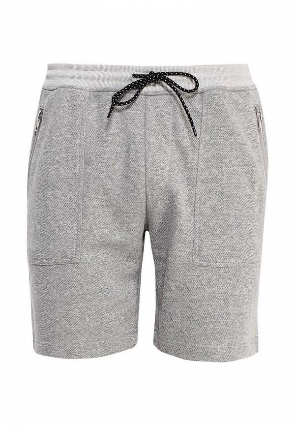 Мужские спортивные шорты Topman (Топмэн) 33J19MGRY