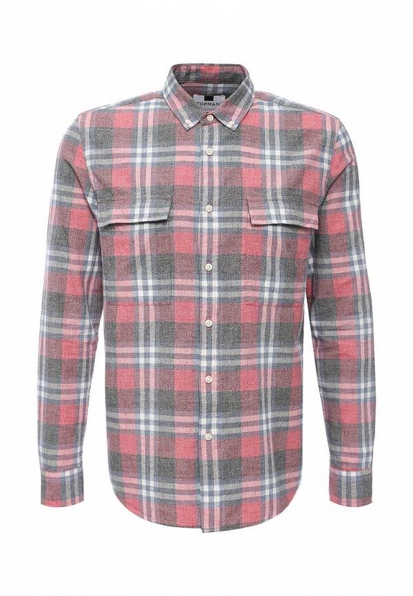 Рубашка с длинным рукавом Topman (Топмэн) 83C12MRED
