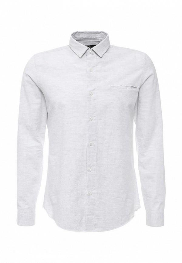 Рубашка с длинным рукавом Topman 84F02MGRY
