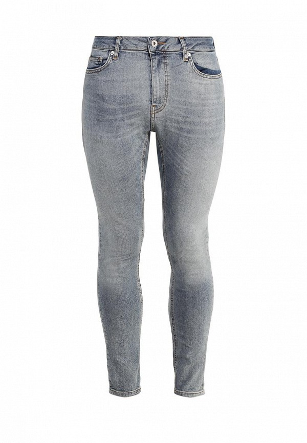 Зауженные джинсы Topman (Топмэн) 69D02NLST