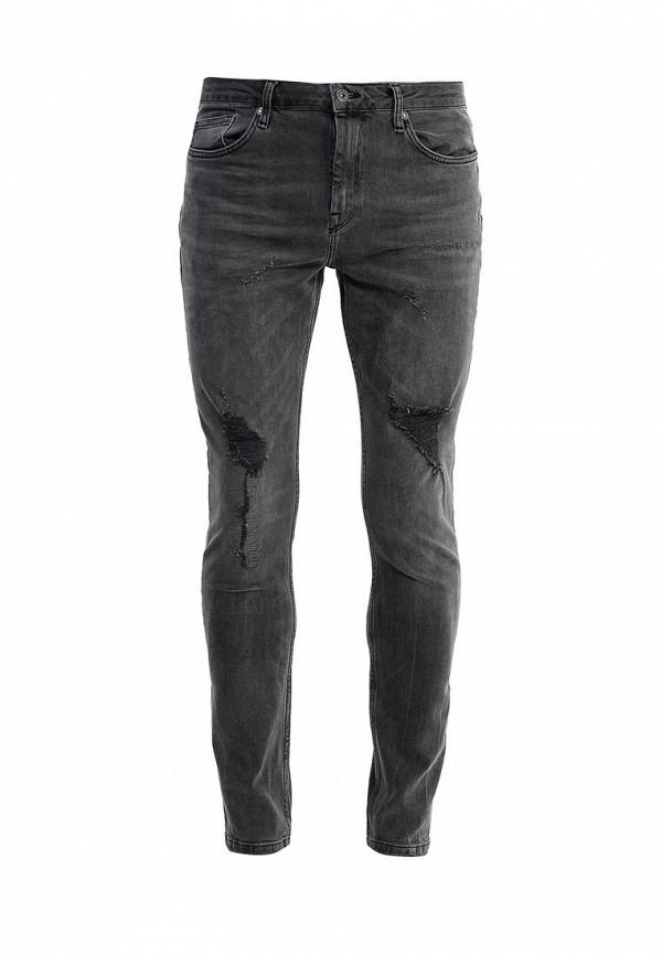 Зауженные джинсы Topman 69B04MGRY