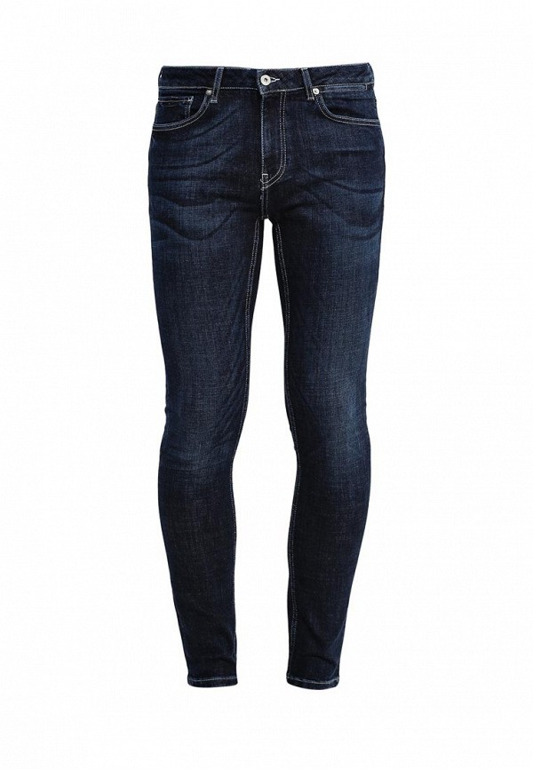 Зауженные джинсы Topman (Топмэн) 69D21MDST