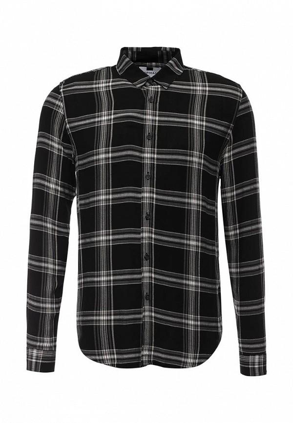 Рубашка с длинным рукавом Topman 83C08MBLK