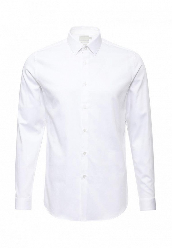 Рубашка с длинным рукавом Topman (Топмэн) 84P16MWHT