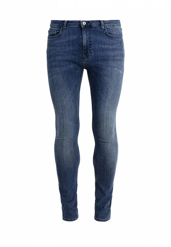 Зауженные джинсы Topman (Топмэн) 69D05NDST