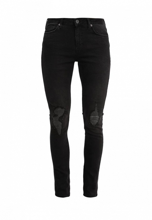 Зауженные джинсы Topman 69D23KWBL