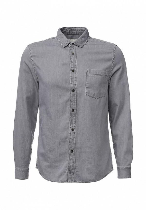 Рубашка с длинным рукавом Topman (Топмэн) 83E14MGRY