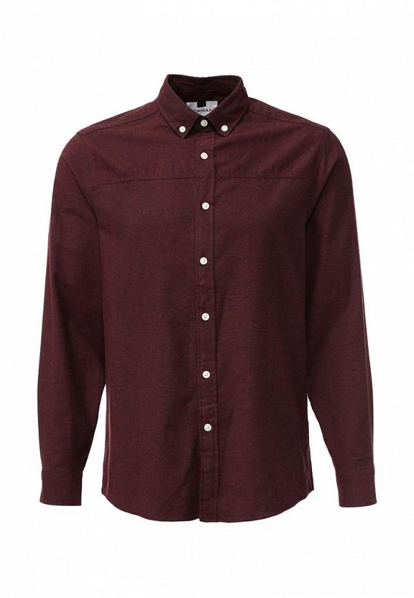 Рубашка с длинным рукавом Topman (Топмэн) 83F17KBLK