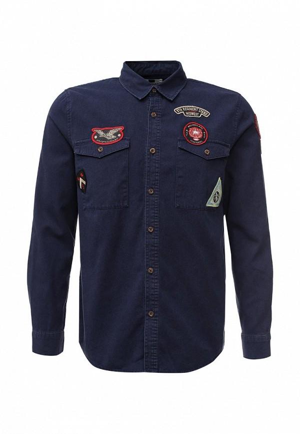 Рубашка с длинным рукавом Topman (Топмэн) 83F20MNAV
