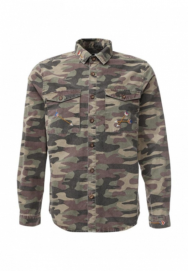 Рубашка с длинным рукавом Topman (Топмэн) 83O24MKHA