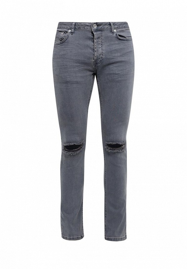Зауженные джинсы Topman (Топмэн) 69B16NGRY