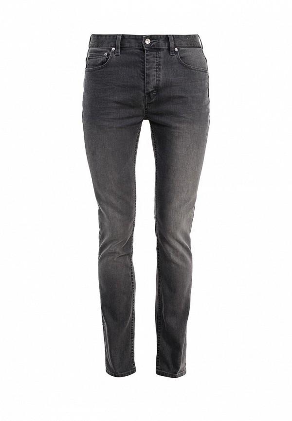 Зауженные джинсы Topman 69M09MGRY