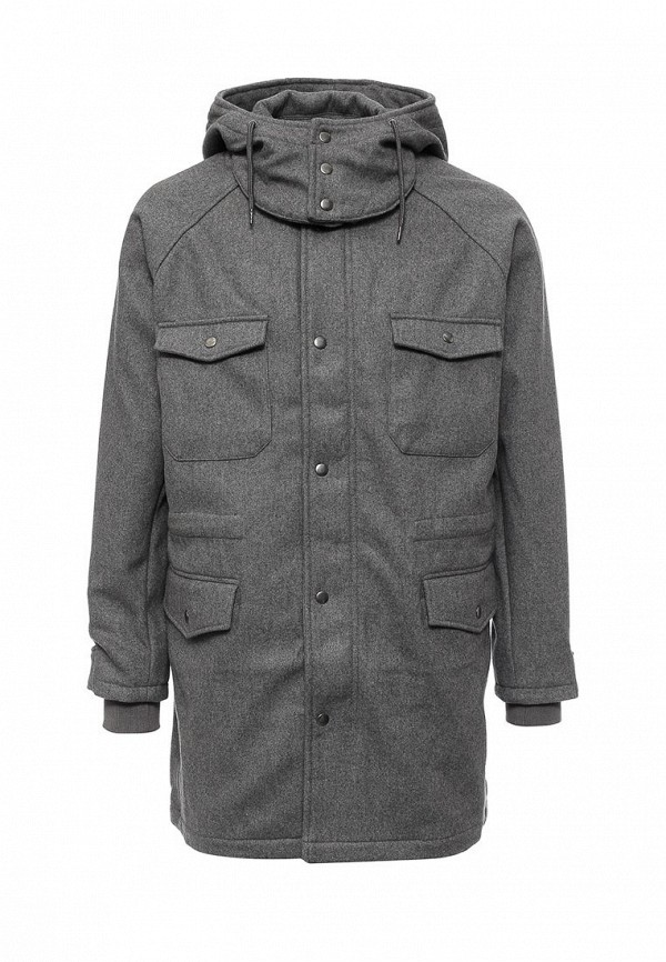 Мужские пальто Topman (Топмэн) 64D15MGRY