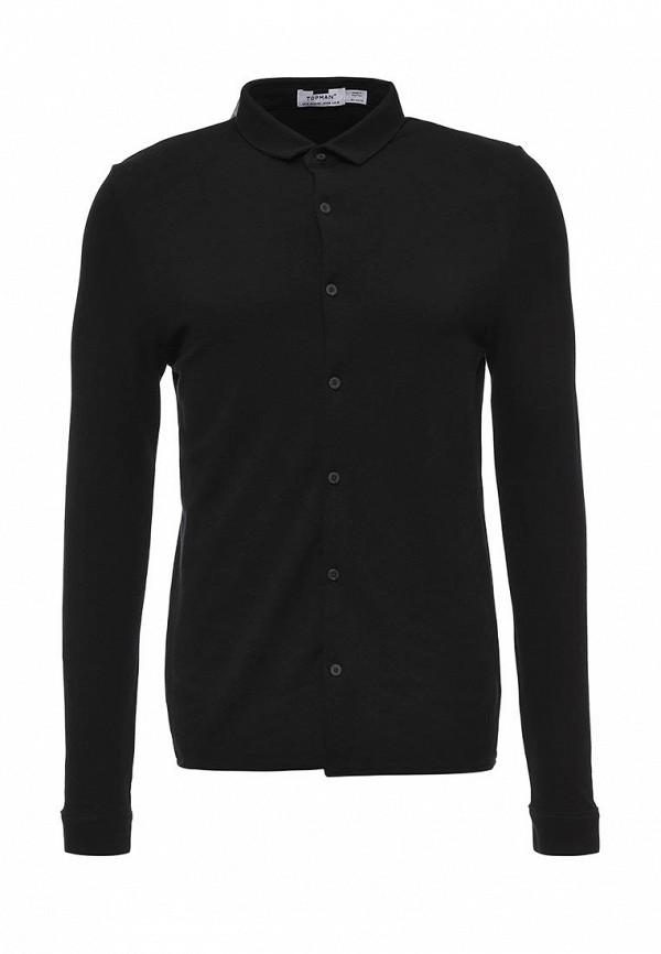 Рубашка с длинным рукавом Topman (Топмэн) 71A47MBLK