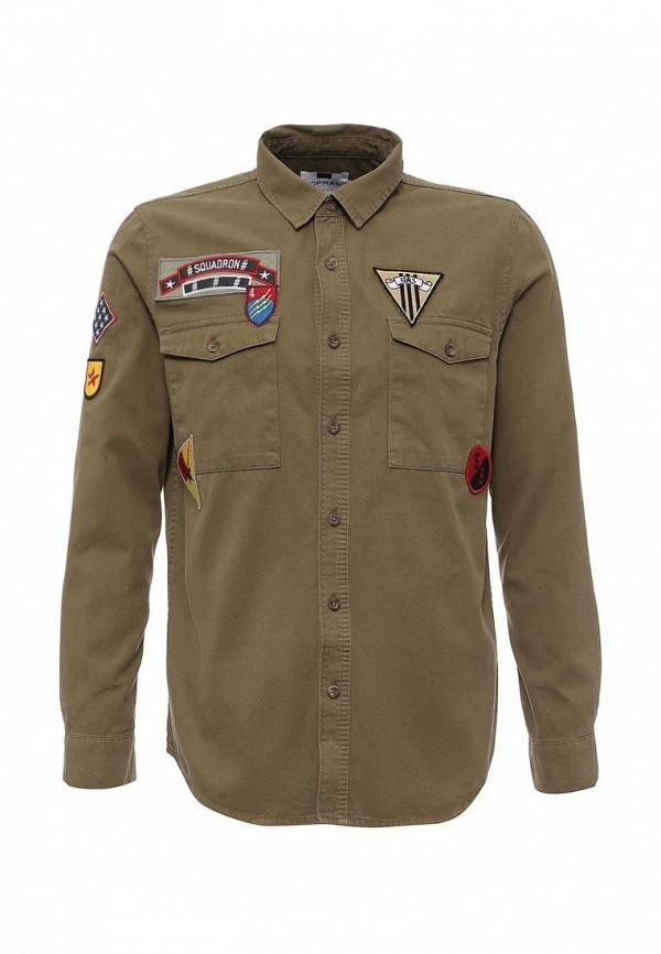 Рубашка с длинным рукавом Topman 83D24MKHA