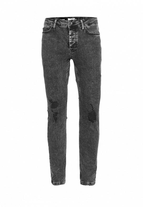 Зауженные джинсы Topman (Топмэн) 69B29NBLK