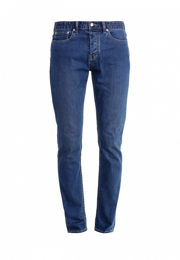 Мужские прямые джинсы Topman (Топмэн) 69E43MBLE