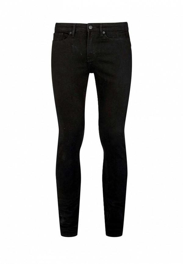 Зауженные джинсы Topman (Топмэн) 69F13NBLK