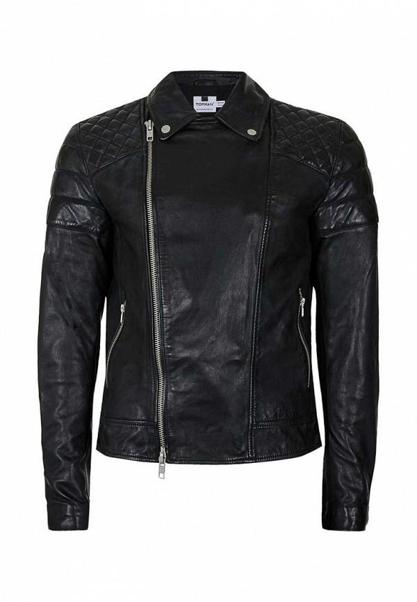 Кожаная куртка Topman (Топмэн) 64L88LBLK