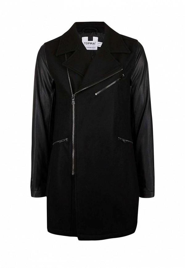 Мужские пальто Topman (Топмэн) 64D20ABLK