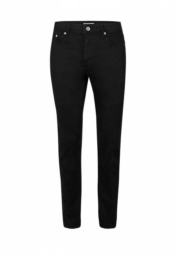 Мужские прямые джинсы Topman (Топмэн) 69F16NBLK